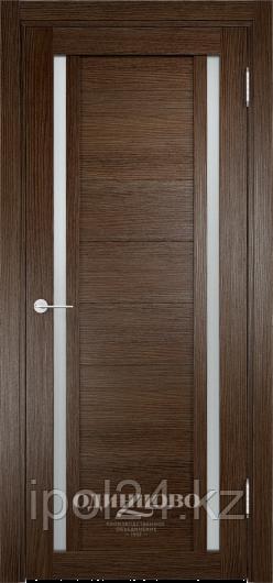 Межкомнатная дверь  Eldorf Берлин (06) ДО остекление Сатинато
