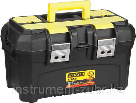 """Ящик для инструмента """"TITAN-16"""" пластиковый, STAYER, фото 2"""