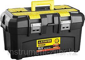 """Ящик для инструмента """"TITAN-19"""" пластиковый, STAYER"""