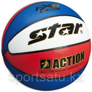 Баскетбольный мяч STAR ACTION