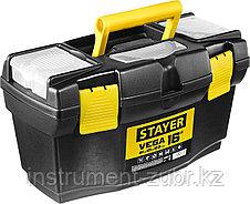 """Ящик для инструмента """"VEGA-16"""" пластиковый, STAYER, фото 2"""
