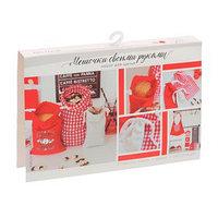 Мешочки для круп с переводками 'Любимая кухня', набор для шитья