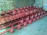 Шнеки винтовые зерновые диаметром от 100мм, фото 2