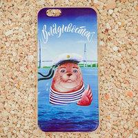 Чехол для телефона iPhone 6 'Владивосток. Морской котик'