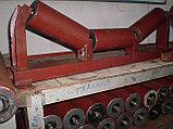 Роликоопоры для щебня и руды из швеллера, желобчатые в сборе с роликами, фото 2
