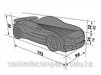 3D кровать машина EVO Mazda, фото 4