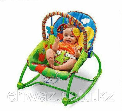Шезлонг детский кресло-качалка Fisher Price