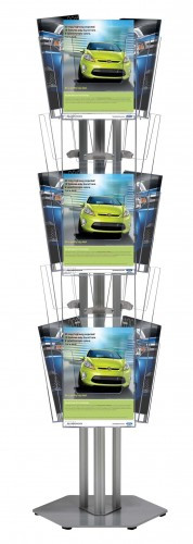 Подставка для брошюр (буклетница) Multiside 3-сторонняя