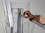 Подставка для брошюр (буклетница) Multiside 3-сторонняя, фото 3