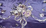 Портьерные ткани с вышивкой Индия шелк на заказ в Алматы