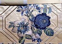 Портьерные ткани с вышивкой бархат- Индия,Италия