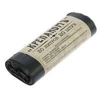 Мешки для мусора универсальные 30 л 'Крепаномъ', ПНД, 20 шт, цвет чёрный