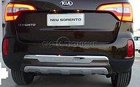 Накладка на на задний бампер  Kia Sorento / Киа Соренто
