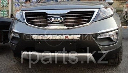 Накладка на передний бампер Kia Sportage / Киа Спортейдж