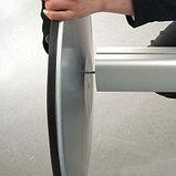 Алюминиевая стойка с круглым основанием (Free Standing) с 2 каналами, фото 2