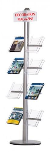 Стойка с боковыми карманами (Free Standing Leaflet with Side Shelves))