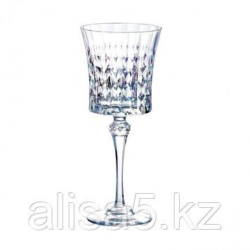 LADY DIAMOND фужеры для вина 190 мл по 6 шт. Хрусталин. Cristal d'Arques.
