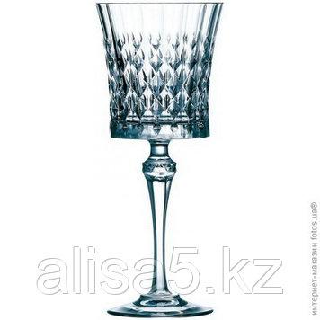 LADY DIAMOND фужеры для вина 270 мл по 6 шт. Хрусталин. Cristal d'Arques.