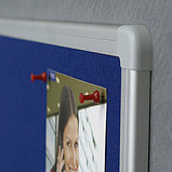 Доска текстильная в алюминиевой раме X7 120*180cm, фото 2