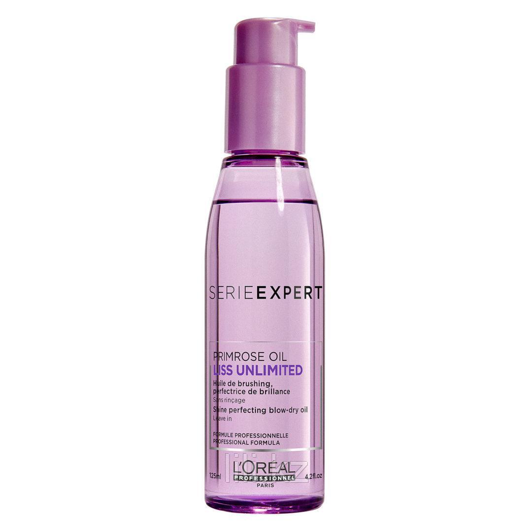 Термозащитное масло-сияние для укладки непослушных волос L`oreal Professionnel Liss Unlimited 125 мл.