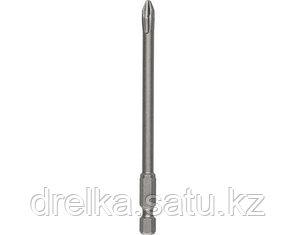 Биты для шуруповерта KRAFTOOL 26121, торсионная кованая, обточенная, Cr-Mo сталь, тип хвостовика E 1/4, 100 мм, фото 2