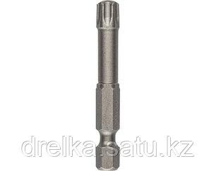 Биты для шуруповерта KRAFTOOL 26125, торсионная кованая, обточенная, Cr-Mo сталь, тип хвостовика E 1/4, 50 мм., фото 2