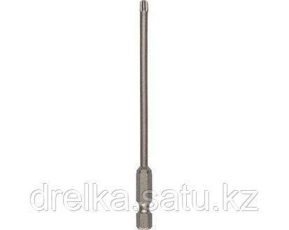 Биты для шуруповерта KRAFTOOL 26125, торсионная кованая, обточенная, Cr-Mo сталь, тип хвостовика E 1/4, 100 мм