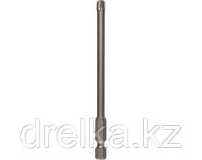 Биты для шуруповерта KRAFTOOL 26125, торсионная кованая, обточенная, Cr-Mo сталь, тип хвостовика E 1/4, 100 мм, фото 2