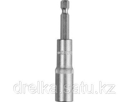 Биты для шуруповерта с торцовой головкой KRAFTOOL 26396, удлиненная, Cr-V, хвостовик E 1/4, фото 2