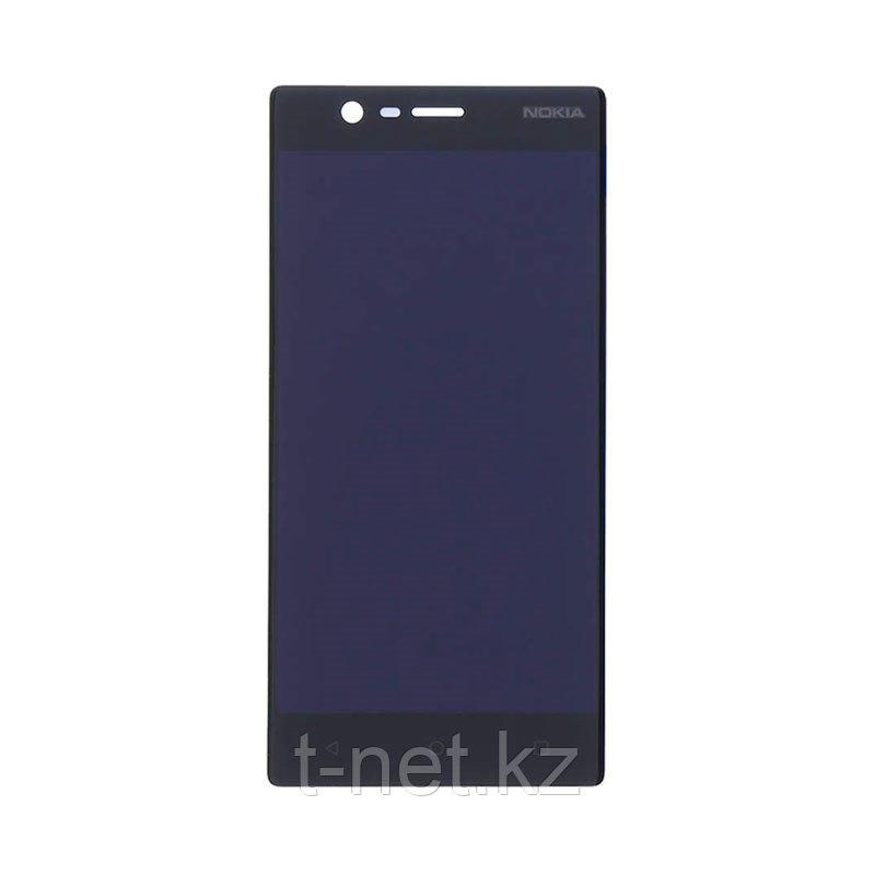 Дисплей Nokia 3 , с сенсором, цвет черный