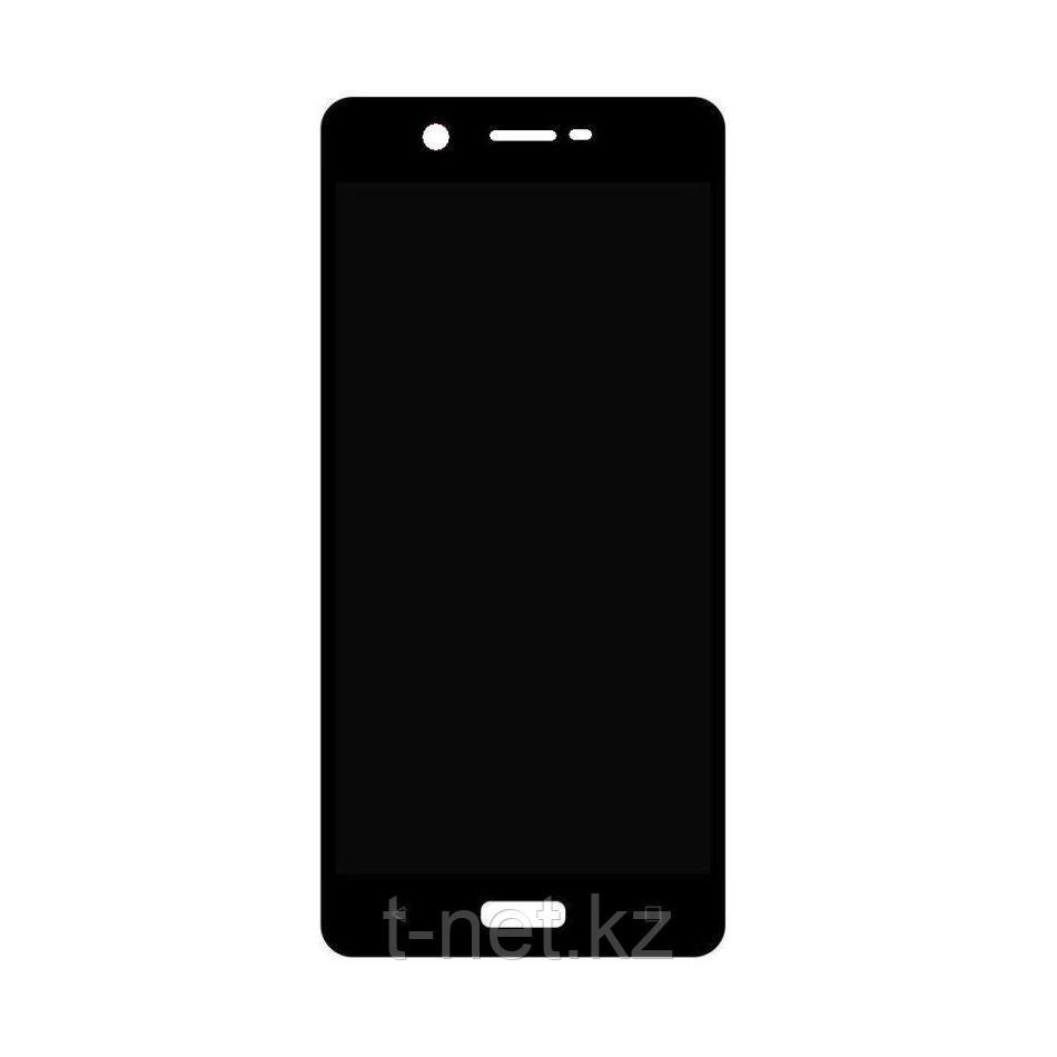 Дисплей Nokia 5 , с сенсором, цвет черный