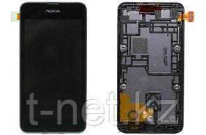 Дисплей Nokia Lumia 530 , с сенсором, цвет черный