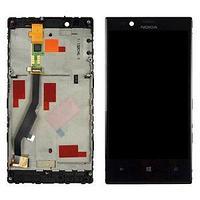 Дисплей Nokia Lumia 720 , с сенсором, цвет черный