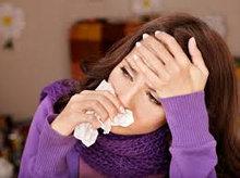 При простудных заболеваниях