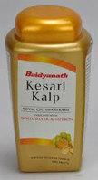 Чаванпраш Кесари Кальп с золотом, серебром и шафраном, Байдьянахт (Kesari Kalp, Baidyanath) 500 гр