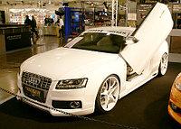 Обвес Rieger на Audi A5, фото 1