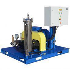 Гидродинамические аппараты 500-2800 бар с электроприводом