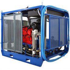 Гидродинамические аппараты 500-2800 бар с автономным приводом
