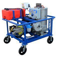 Гидродинамические аппараты 500-2800 бар с подогревом воды