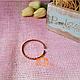 Медный браслет, браслет из меди и латуни (детский/подростковый), 1шт, фото 2