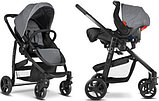Коляска 2 в 1 Graco EVO TS charcoal, фото 3