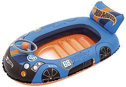 Лодочка надувная Hot Wheels 112х71 см, от 4х лет 93405