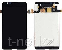 Дисплей Sony Xperia E4 , с сенсором, цвет черный
