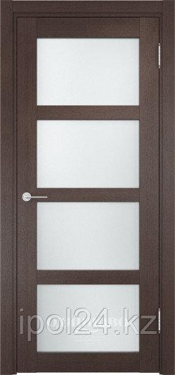Межкомнатная дверь  Casaporte Рома 11 ДО  остекление Сатинато Люкс