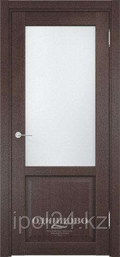 Межкомнатная дверь  Casaporte Рома 24-2 ДО  остекление Сатинато Люкс