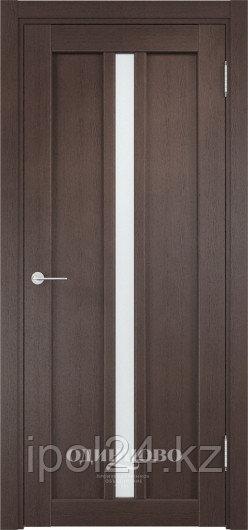 Межкомнатная дверь  Casaporte Флоренция 27  ДО  остекление матированное Белое