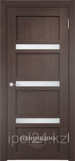 Межкомнатная дверь  Casaporte Ливорно 05  ДО остекление матированное Белое/Сатинато Люкс
