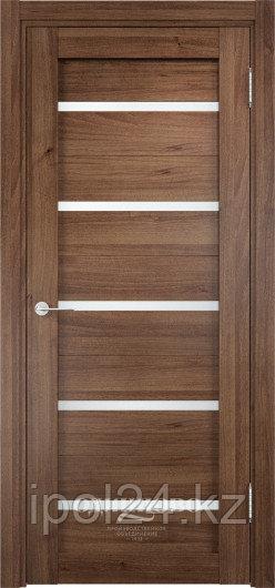 Межкомнатная дверь  Casaporte Ливорно 06  ДО остекление матированное Белое/Сатинато Люкс