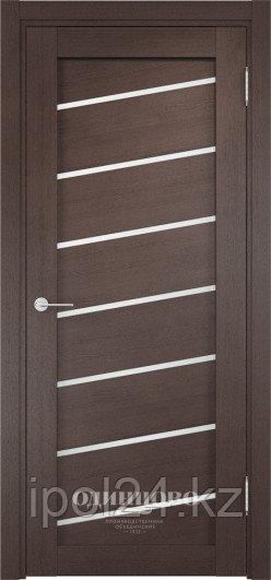 Межкомнатная дверь  Casaporte Ливорно 07  ДО остекление матированное Белое/Сатинато Люкс