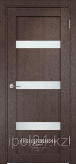 Межкомнатная дверь  Casaporte Верона 04  ДО остекление матированное Белое